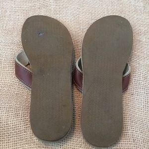5ea7c2e0ecc5 ocean rider Shoes - Ocean Rider 12M leather men s flip flop made USA